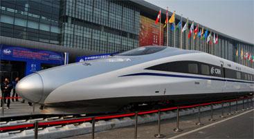 中国高铁动车和谐号--铆钉