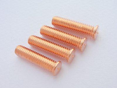 储能外螺纹焊钉 镀铜