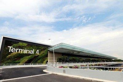 新加坡--樟宜机场T4航站楼